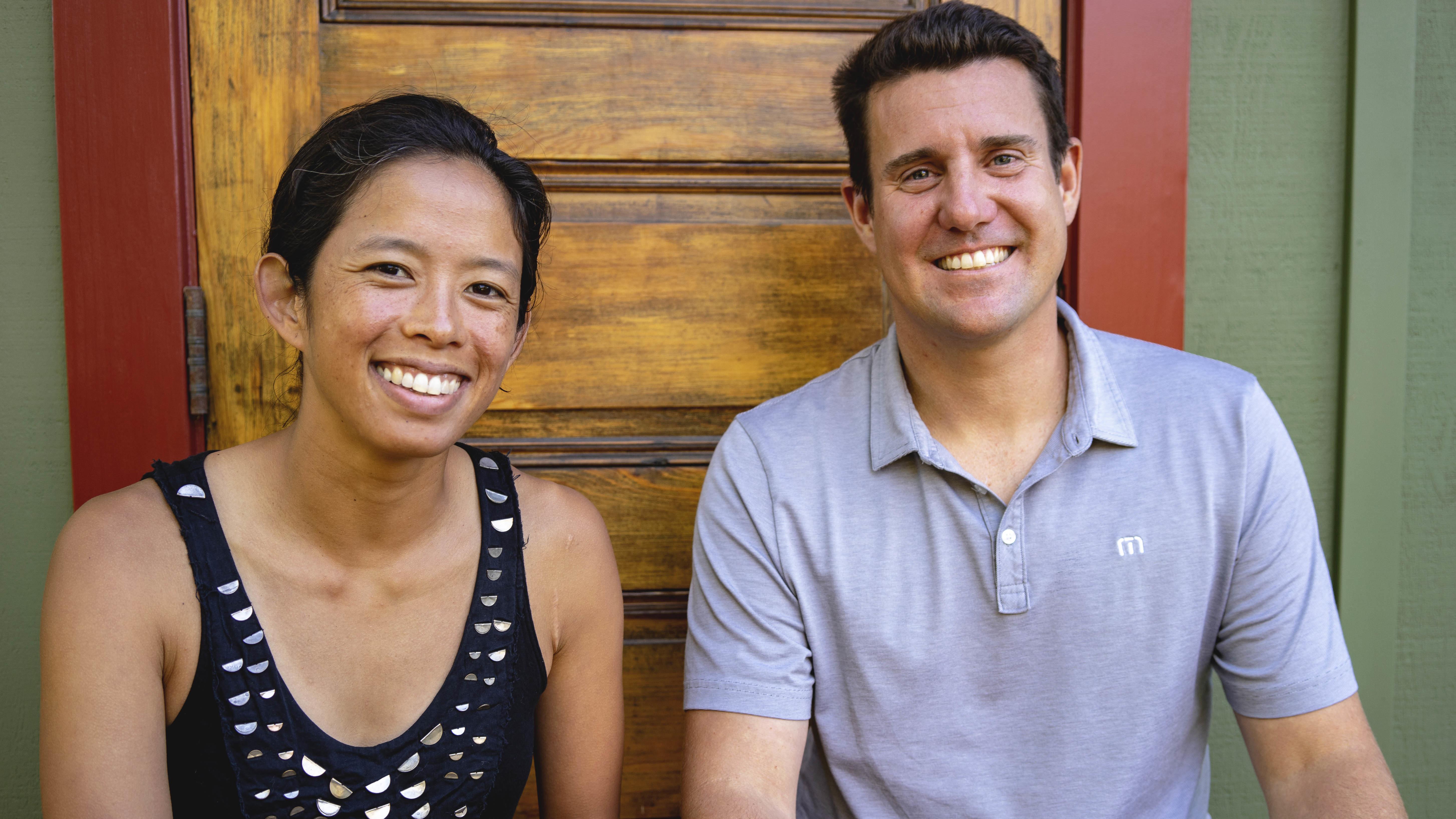 Kara Meyberg Guzman and Stephen Baxter