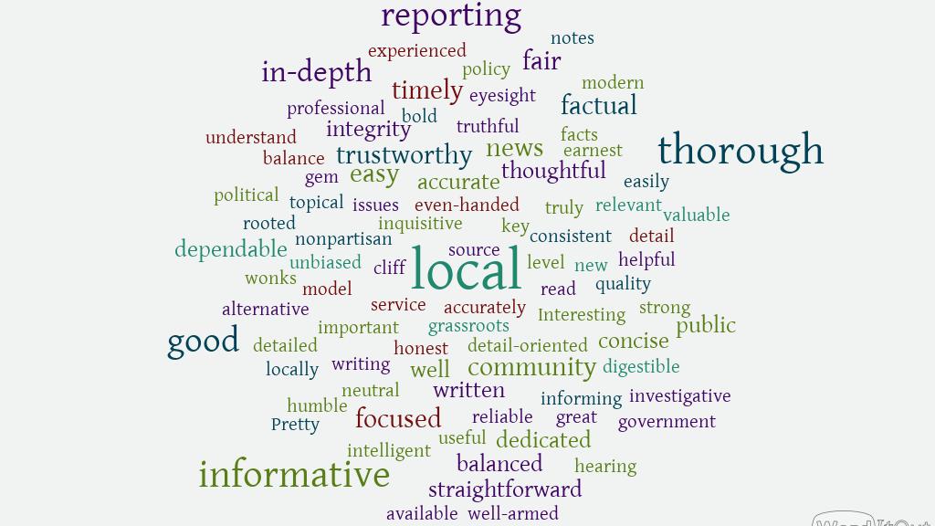 "words that describe Santa Cruz Local, including ""local"" ""thorough"" ""informative"" and ""in-depth"""